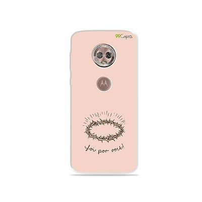 Capinha para Moto G6 Plus - Foi por você