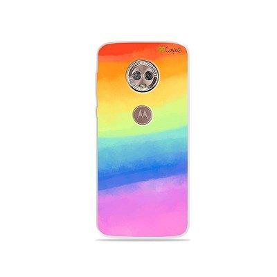Capinha para Moto G6 Plus - Rainbow