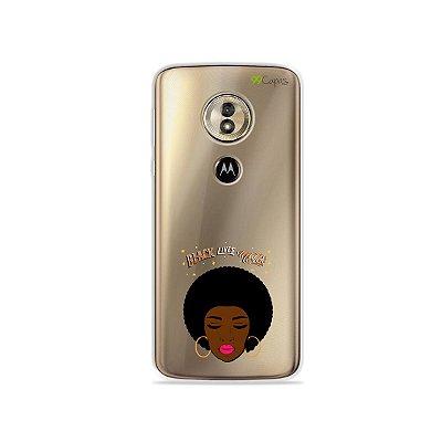 Capa para Moto G6 Play - Black Lives