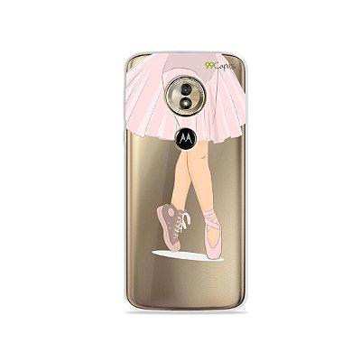 Capa para Moto G6 Play - Ballet