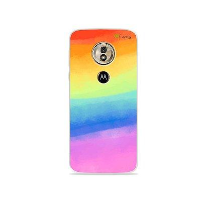 Capa para Moto G6 Play - Rainbow