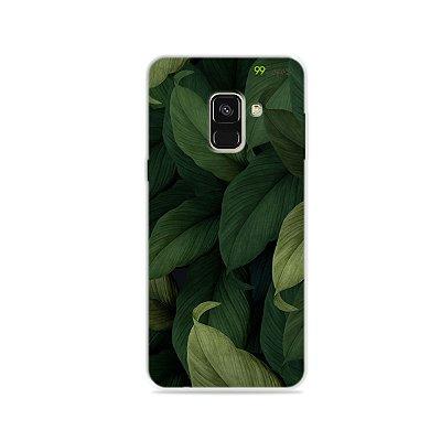 Capinha para Galaxy A8 - Folhas