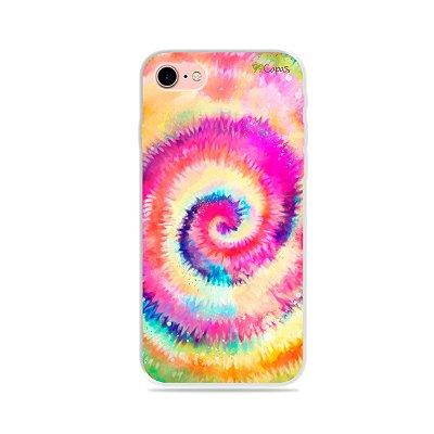 Capinha para iPhone 7 - Tie Dye