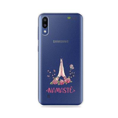 Capinha (transparente) para Galaxy M10 - Namastê