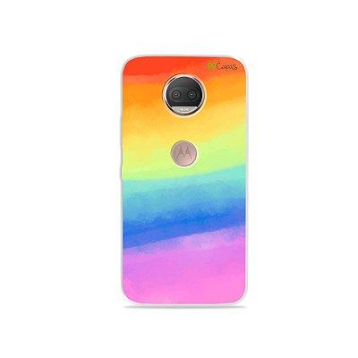 Capinha para Moto G5S Plus - Rainbow