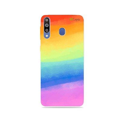 Capinha para Galaxy M30 - Rainbow