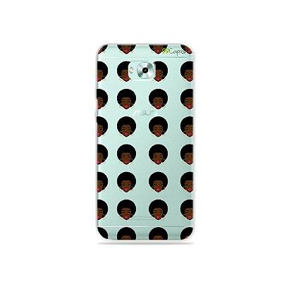 Capinha (transparente) para Zenfone 4 Selfie - Black Girl
