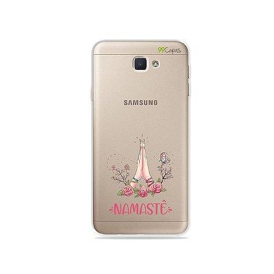 Capinha (transparente) para Galaxy J7 Prime - Namastê