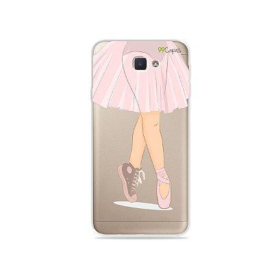 Capinha (transparente) para Galaxy J7 Prime - Ballet