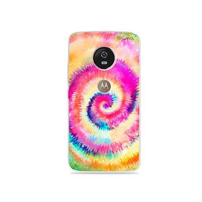 Capa para Moto G5 - Tie Dye