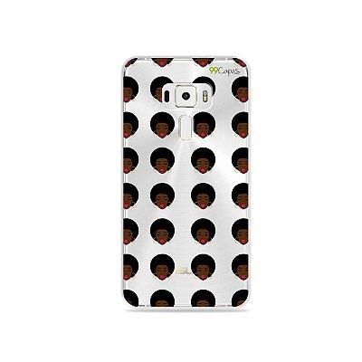 Capinha (transparente) para Asus Zenfone 3 - 5.5 Polegadas - Black Lives