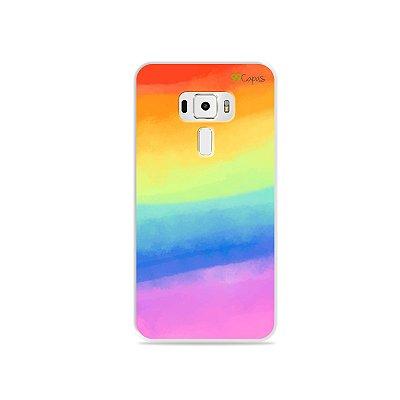 Capinha para Asus Zenfone 3 - 5.5 Polegadas - Rainbow