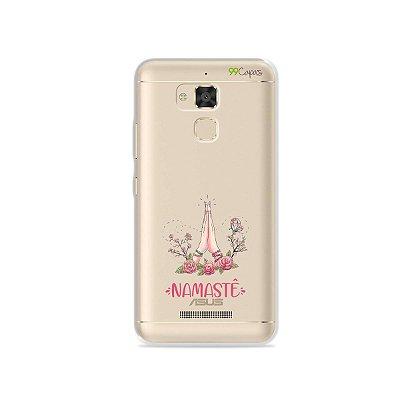 Capinha (transparente) para Asus Zenfone 3 Max- 5.2 Polegadas - Namastê