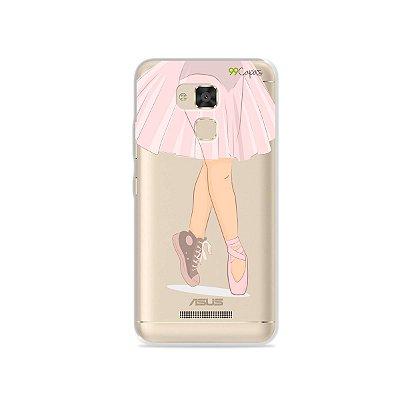 Capinha (transparente) para Asus Zenfone 3 Max- 5.2 Polegadas - Ballet