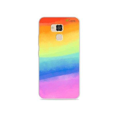 Capinha para Asus Zenfone 3 Max- 5.2 Polegadas - Rainbow