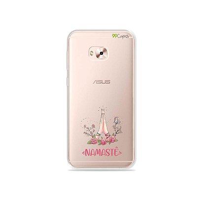 Capinha (transparente) para Zenfone 4 Selfie Pro - Namastê