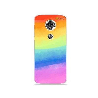 Capa para Moto E5 Plus - Rainbow
