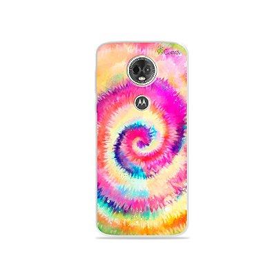 Capa para Moto E5 Plus -Tie Dye
