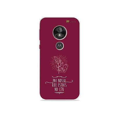 Capa para Moto E5 Play - Pai Nosso