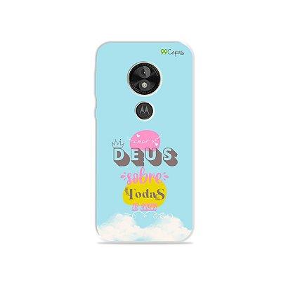 Capa para Moto E5 Play - Amar à Deus