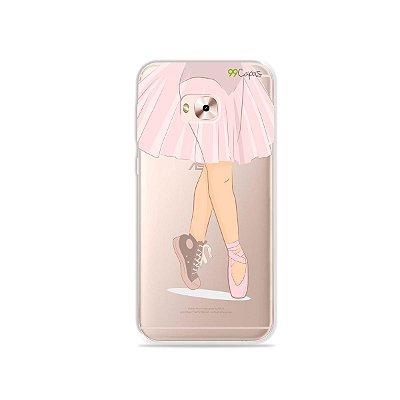 Capinha (transparente) para Zenfone 4 Selfie Pro - Ballet