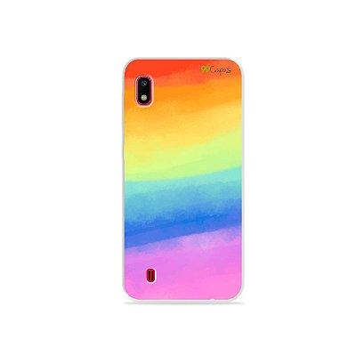 Capinha para Galaxy A10 - Rainbow