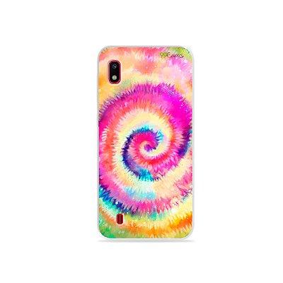 Capinha para Galaxy A10 - Tie Dye