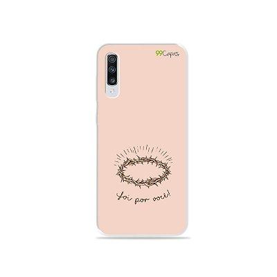 Capinha para Galaxy A70 - Foi por você