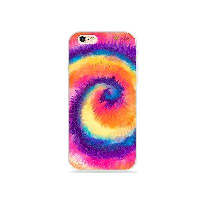 Capinha para iPhone 6/6S - Tie Dye Roxo
