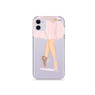 Capinha (transparente) para iPhone 11 - Ballet