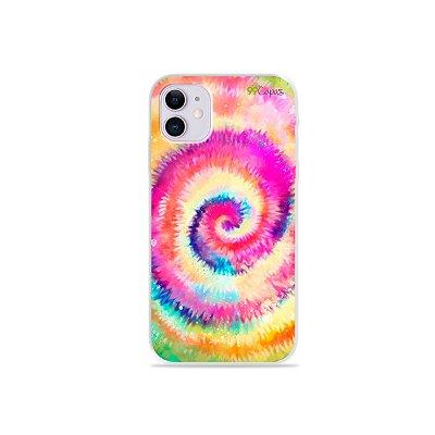 Capinha para iPhone 11 - Tie Dye