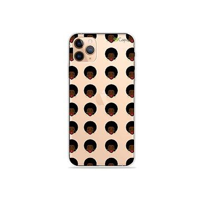 Capinha (transparente) para iPhone 11 Pro - Black Girls