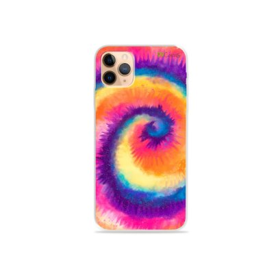 Capinha para iPhone 11 Pro - Tie Dye Roxo