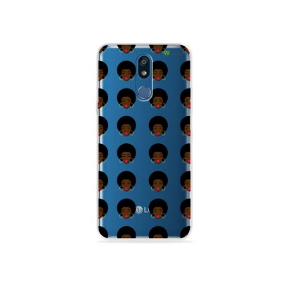 Capinha (transparente) para LG K12 - Black Girls