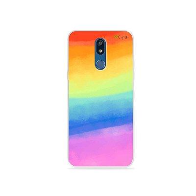 Capinha para LG K12 - Rainbow