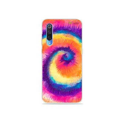 Capinha para Xiaomi Mi 9 - Tie Dye Roxo