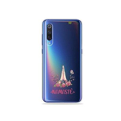 Capinha (transparente) para Xiaomi Mi 9 - Namastê