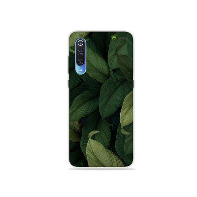 Capinha para Xiaomi Mi 9 - Folhas