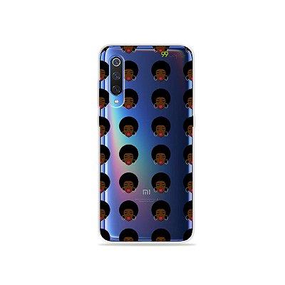 Capinha (transparente) para Xiaomi Mi 9 - Black Girls