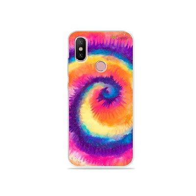 Capinha para Xiaomi Mi A2 - Tie Dye Roxo