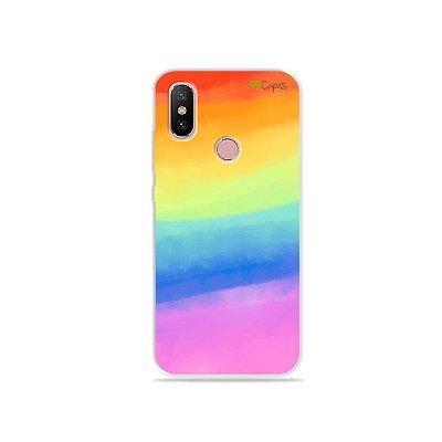 Capinha para Xiaomi Mi A2 - Rainbow