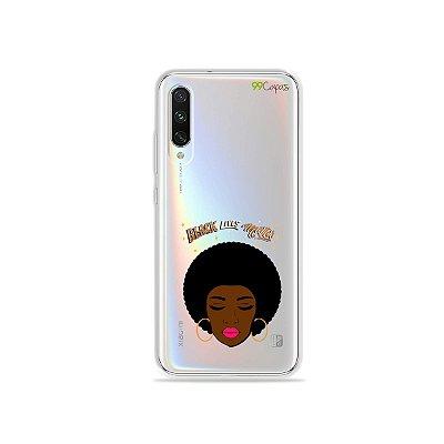 Capinha (transparente) para Xiaomi Mi A3 - Black Lives