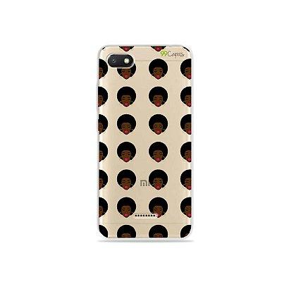 Capinha (transparente) para Xiaomi Redmi 6A - Black Girl