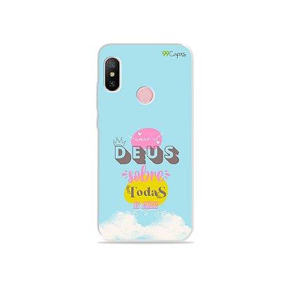Capinha para Xiaomi Redmi Note 6 - Amar a Deus