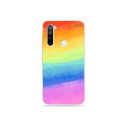 Capinha para Xiaomi Redmi Note 8 - Rainbow