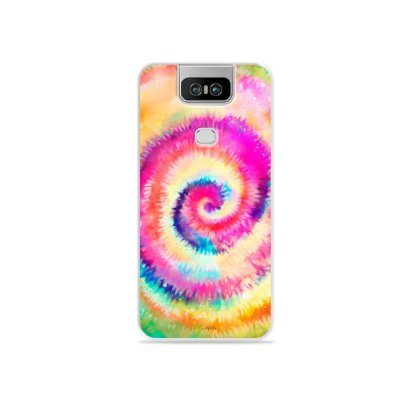 Capinha para Zenfone 6 - Tie Dye