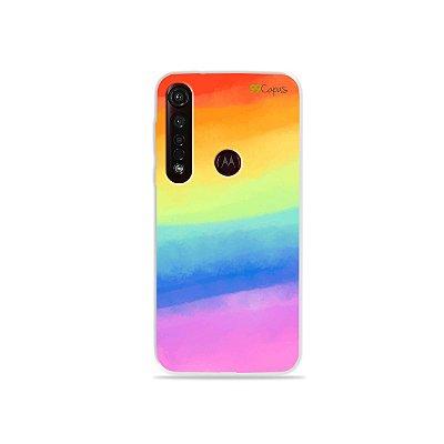 Capinha para Moto G8 Plus - Rainbow