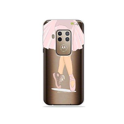 Capinha (transparente) para Moto One Zoom - Ballet
