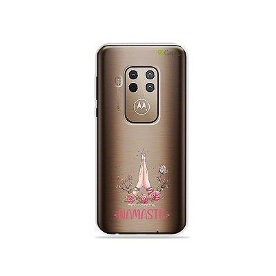 Capinha (transparente) para Moto One Zoom - Namastê