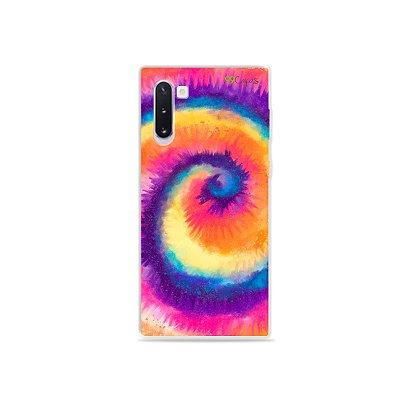 Capinha para Galaxy Note 10 - Tie Dye Roxo